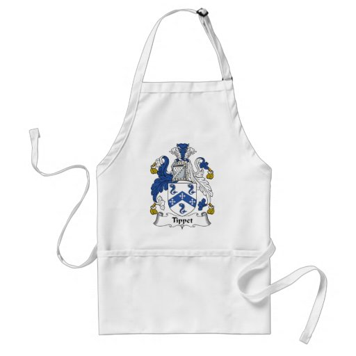 Tippet Family Crest Aprons