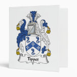 Tippet Family Crest Binders