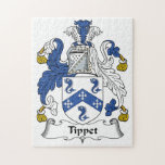 Tippet Family Crest Jigsaw Puzzle