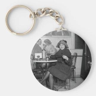 Tipping Cane, 1922 Basic Round Button Keychain