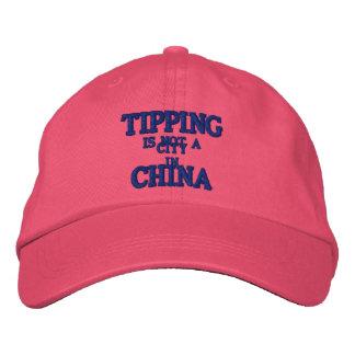 TIPPING BASEBALL CAP