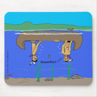 """Tippy Canoe"" Mouse Pad"