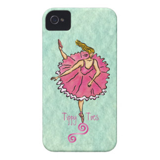 Tippy Tippy Toes  Ballerina iPhone 4 Case
