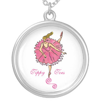 Tippy Toes Ballerina Necklace