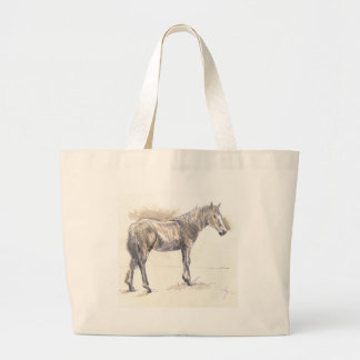 Tippy toes large tote bag