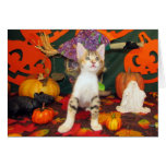 Tippy's Big Scare - Halloween Card