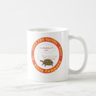 tippy's go-juice classic white coffee mug