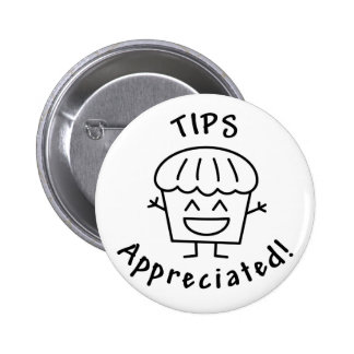 Tips-Appreciated (The Happy Muffin) Buttons