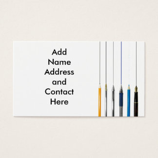 Tips Business Card Template