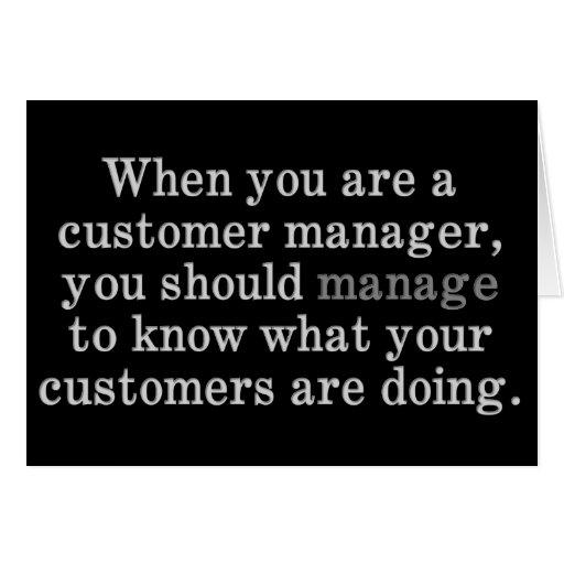 Tips for Customer Management Card