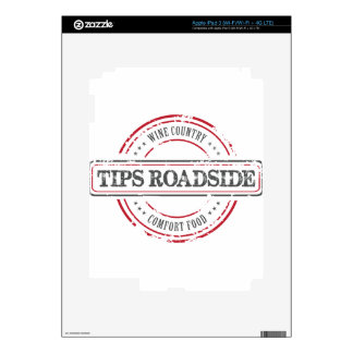 Tips Roadhouse Final Decal For iPad 3