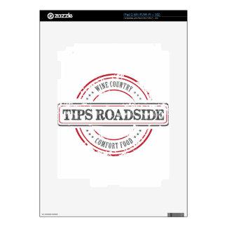 Tips Roadhouse Final iPad 2 Skins