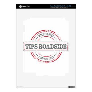 Tips Roadhouse Final iPad 3 Skins