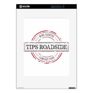 Tips Roadhouse Final iPad Skin