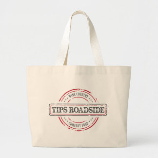 Tips Roadhouse Final Large Tote Bag