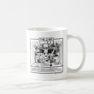 TIPS - THE CHEF CLASSIC WHITE COFFEE MUG