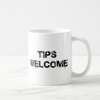Tips Welcome Coffee Mug