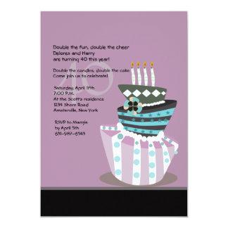 Tipsy Cake Birthday Party Invitation