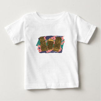 Tipsy Hawaiian Tiki Totem Low Brow Phone Case Baby T-Shirt