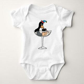Tipsy Penguin Baby Bodysuit