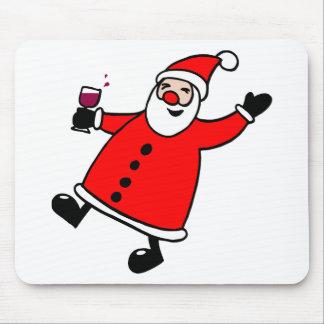Tipsy Santa Mouse Pad
