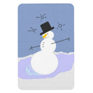 Tipsy the Snowman Magnet