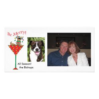 Tipsy-tini's Reindeer Card