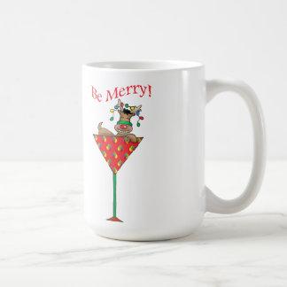 Tipsy-tini's reindeer coffee mug