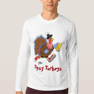 Tipsy Turkey (Beer) - New Balance LS T-shirt