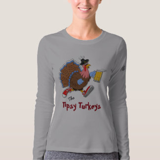 Tipsy Turkey (Beer) - New Balance LS T-shirt