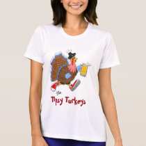 Tipsy Turkey (Beer) - Sport Tek SS T-Shirt