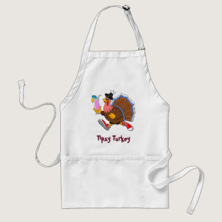 Tipsy Turkey (Cocktail) Adult Apron