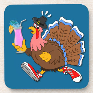 Tipsy Turkey (Cocktail) Beverage Coaster
