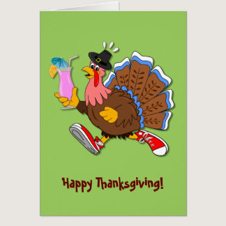 Tipsy Turkey (Cocktail) Card