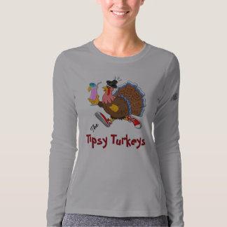 Tipsy Turkey (Cocktail) - New Balance LS T-shirt