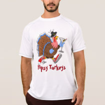 Tipsy Turkey (Martini) - New Balance SS T-Shirt