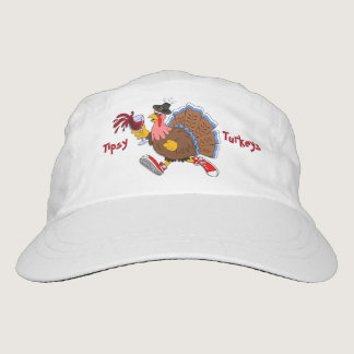 Tipsy Turkey (Wine) Headsweats Hat