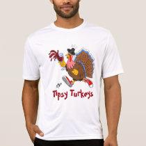 Tipsy Turkey (Wine) - Sport Tek SS T-Shirt