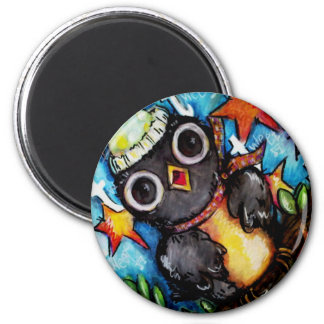 Tipsy Tweet Party 2 Inch Round Magnet