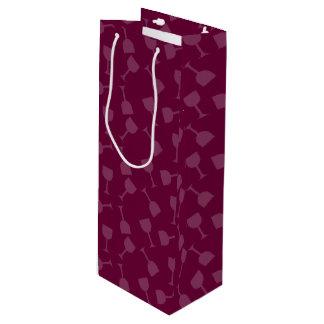 Tipsy Wine Glasses Wine Gift Bag