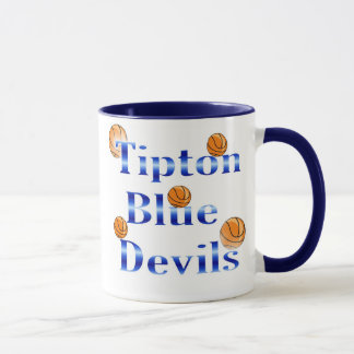 Tipton Blue Devils Basketball Mug