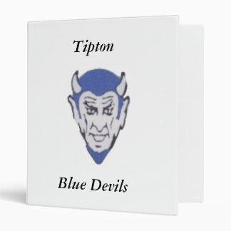 Tipton Blue Devils Binders