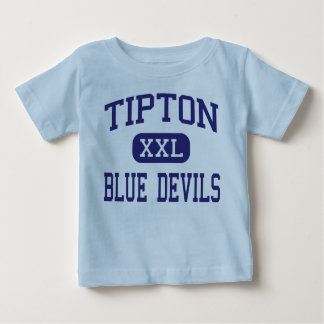 Tipton - Blue Devils - High - Tipton Indiana T Shirts