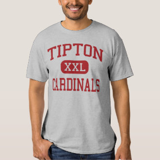 Tipton - Cardinals - High School - Tipton Missouri T-shirt