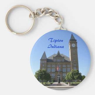 Tipton County  Courthouse - Customized Keychain