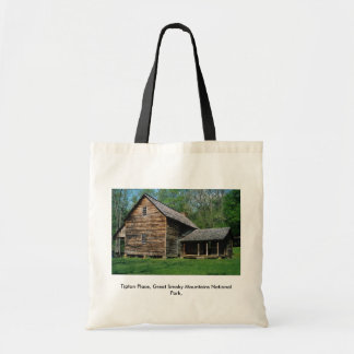 Tipton Place, Great Smoky Mountains National Park, Tote Bag