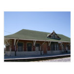 Tipton Train Station Postcard