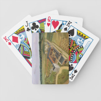 Tiptree Hall and Farm, Essex, c.1850-60 (oil on ca Bicycle Playing Cards