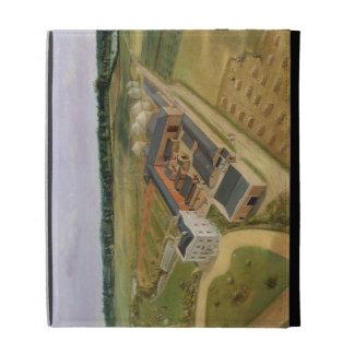 Tiptree Hall and Farm, Essex, c.1850-60 (oil on ca iPad Cases