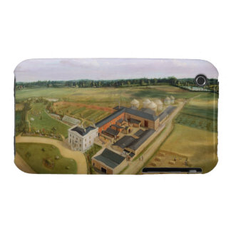 Tiptree Hall and Farm, Essex, c.1850-60 (oil on ca iPhone 3 Cover